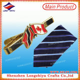 Fashion Cheap Custom Logo Nation Flag Necktie Pin Metal Tie Clip