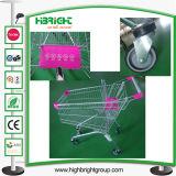 Pink Color Supermarket Shopping Cart