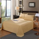 Cheap Solid Polyester Home Bedding Bed Sheets