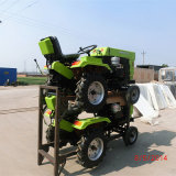 Huaxia Factory High Quality Best Price 12HP Farm Mini Tractor with CE Certificate Rotary Tiller/Plough
