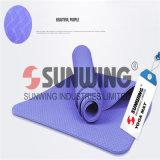 Comfort Eco-Friendly NBR Digital Printed Embossing PVC Yoga Mat