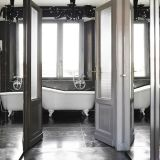 Interior/Exterior Natural Nero Marquina Marble Stone Black Marble Floor Tile