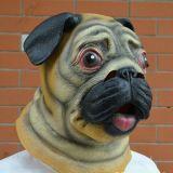 Eco-Friendly Latex Dog Mask Brown Horse Mask Animal Mask