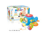 Electric Baby Learning Toys Intelligent Plane (H0940381)