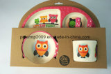 Bamboo Fiber Dinner Set, Kids Tableware Set, Kids Dinnerware Set