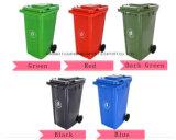 100% HDPE Material of 240L Plastic Trash Bin (EN840)