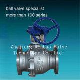 A216 Wcb Carbon Steel 2-Pieces Flange Ball Valve 150lb