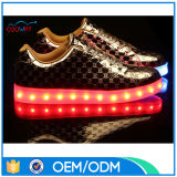 New Style Wholesale Price Fashion Colorful LED Light Shoes