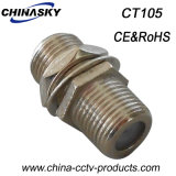 CCTV Screw Nut F Female to F Female Connector (CT105)
