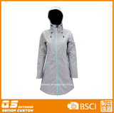 Lady′s Softshell High Quality Customed Coat