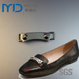 Fashion Zinc Alloy Chain Buckles with Tubular a Rivets and Studs for Shoes