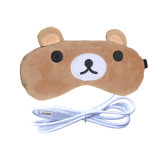 Promotion Teddy Bear Electric Powered Heated USB Heated Eye Pillow