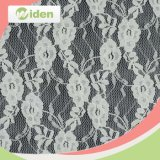 Customized Embroidery Nylon Tricot Wrap Knitted Lace Fabric