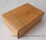 Natural Wood Watch & Jewelry Box
