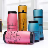 Wholesales Custom BPA Free Bamboo Thermos Vacuum Flask, Stainless Steel Vacuum Flask