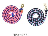 Braided Webbing Two Tone Color Horse Lead