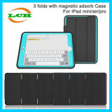 3 Folds Flip Cover Leather Case with Smart Sleep Function for iPad