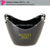 12L Double Wall Plastic PS Ice Bucket for Wine Chiller