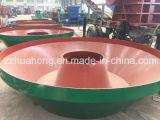 Huahong Gold Grinding Mining Machine Edge Runner Mill Parts