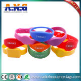 Silicon Satisfying Round RFID Wristband and RFID Bracelets for Concerts & Events