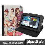 Bestsub Promotional Sublimation PU Tablet Case for Samsung P3100 (SSG37)