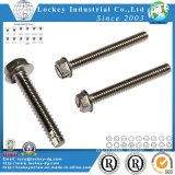 Stainless Steel Hex Washer Head Machine Screw