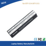 New Laptop Battery for Msi Bty-S14 Bty-S15 A6500