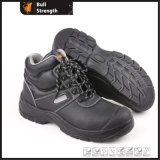 Industry Leather Safety Shoes with Steel Toe and Steel Midsole (SN5284)