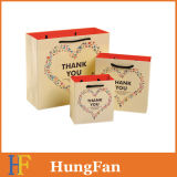 fashion and New Designed Gift Paper Bag with Customized Ribbon