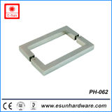 Popular Designs Stainless Steel Square Door Handle (pH-062)
