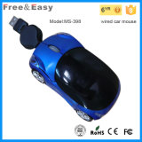 New 3D Gift USB Optical Car Shape Wired Mouse