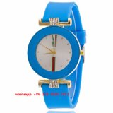New Style Quartz Movement Watch with Silicone Strap for Women Fs 502