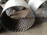 Perforated Hex Net for Refractory Lining