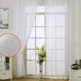 New Modern Cotton Linen Solid Sheer Curtain (18F0092)