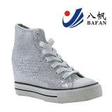 Fashion Women′s Vulcanized Wedge Shoes Bf1610220