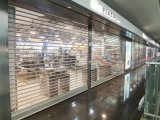 Commercial Panoramic Crystal Motorized Transparent Roller Shutter Door