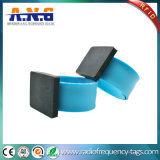 RFID Wristbands, Slap Wristbands Silicone for IC/ID Card Watch