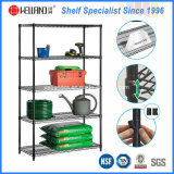 800lbs Adjustable 5 Shelf NSF Metal Storage Wire Shelving Rack System
