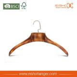 Vintage Solid Wooden Semi-Arc Shape Coat Hanger