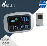 RF 433MHz Wireless Weather Station Clock with Temperaturetrend