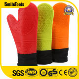 Thickened Heat Resistant Grilling Long Silicone Cooking Oven BBQ Gloves