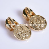Custom Fashion Decorative Metal Zipper Pull/Zipper Puller