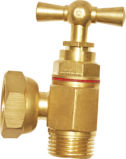 Male Thread Brass Angle Check Valve with Socket Connector
