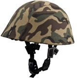 Bulletproof Safety Protection Duty Helmet with Camouflage Covering