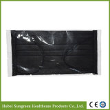 Disposable Black Non-Woven Face Mask with Individual Packing