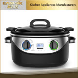 Digital + Mechanical Control Stainless Steel 8 in 1 Multi Cooker