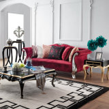 Fashion Fabric Steel Legs Sofa Chair (UL-NS167)