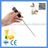 Digital Food Milk BBQ Cooking Thermometer Pen Shape with Stainless Steel Probe