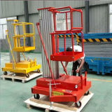Aerial Work Hydraulic One Man Lift Platform Aluminum Alloy Lift Elevator