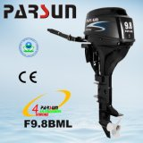 F9.8bml, 9.8HP 4-Stroke, Tiller Control, Manual Start and Long Shaft Outboard Motor